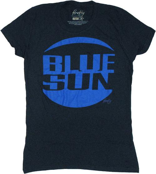 Firefly Blue Sun Navy Baby Tee