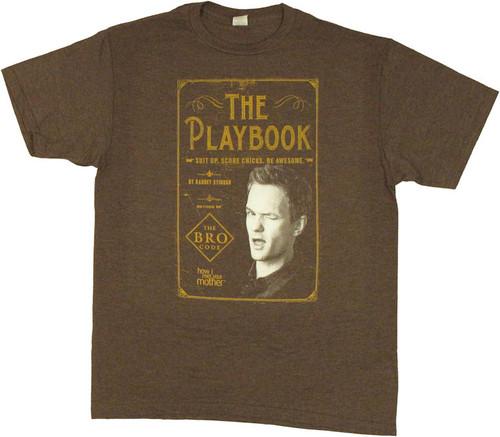 How I Met Your Mother Playbook T Shirt Sheer