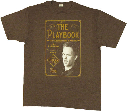 How I Met Your Mother Playbook T Shirt Sheer