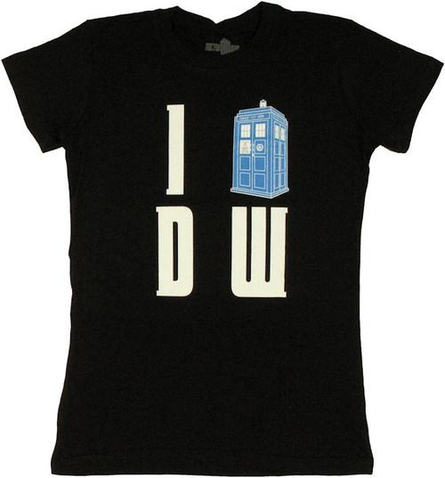 Doctor Who I TARDIS DW Baby Tee
