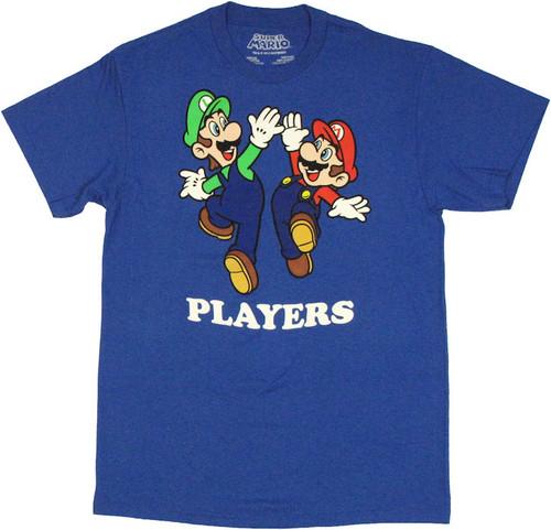 Mario Luigi Players T Shirt