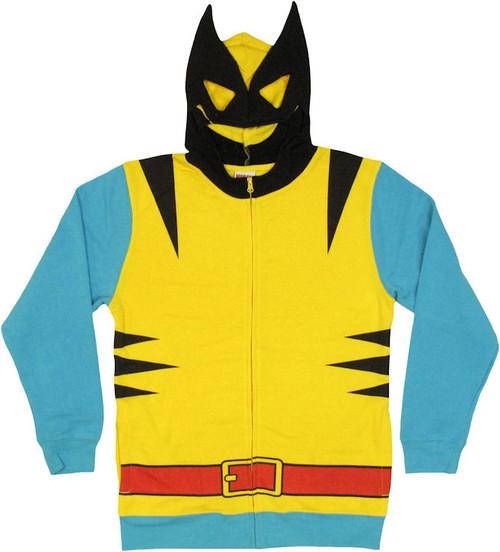 Wolverine Costume Suit Hoodie