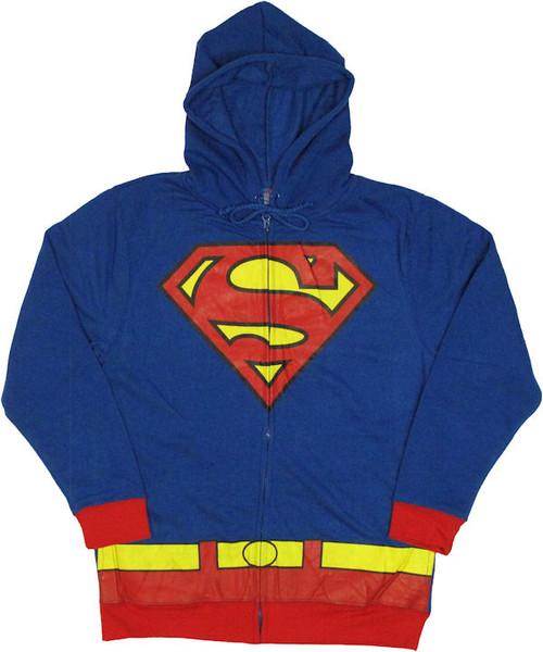 Superman Costume Suit Hoodie