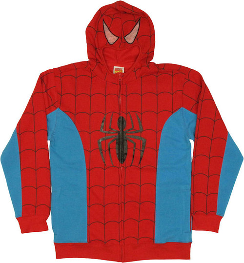 Spiderman Costume Suit Hoodie