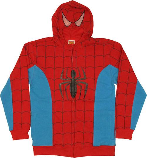 Spiderman Costume Suit Hoodie