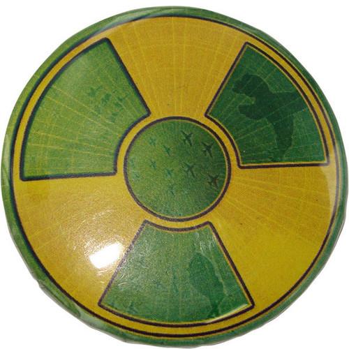 Incredible Hulk Symbol Button