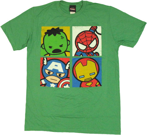 Marvel Toys Quad Hero T Shirt Sheer