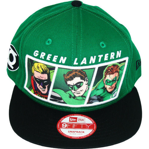 Green Lantern Evolution Hat