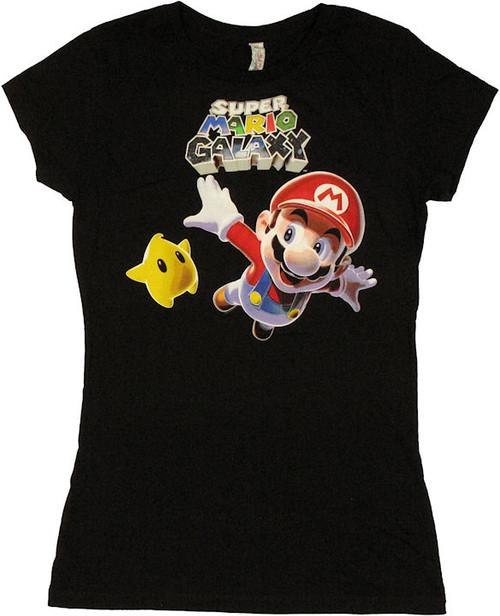 Mario Galaxy Fly Baby Tee