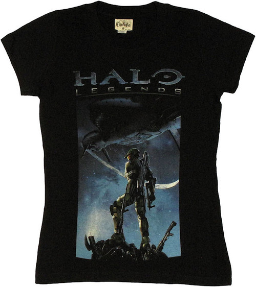 Halo Legends Cover Art Baby Tee