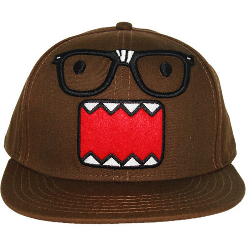 Domo Kun Nerdy Brown Hat