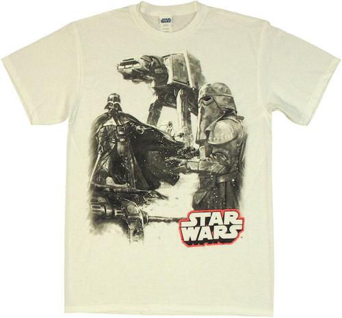 Star Wars Snow Hunt T Shirt