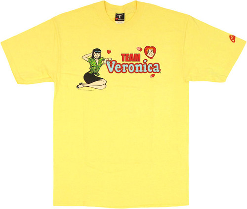 Archie Comics Team Veronica T Shirt