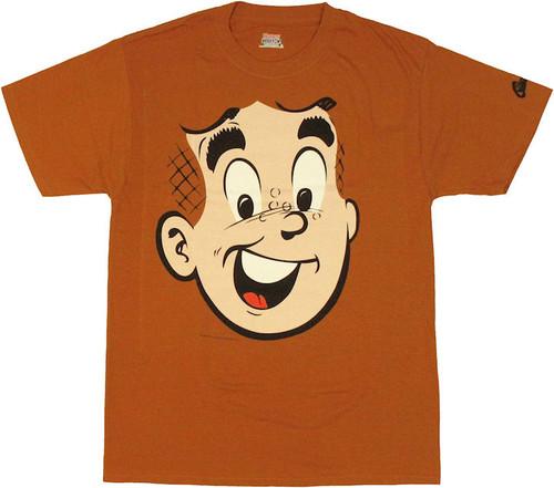 Archie Comics Archie Face T Shirt