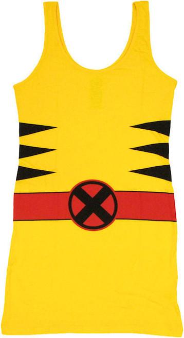 X Men Wolverine Costume Tank Top Dress