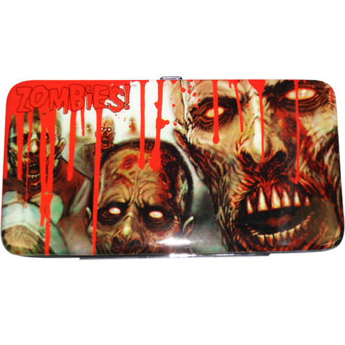 Zombies Feast Bloody Cover Clutch Wallet