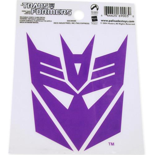 Transformers Decepticon Purple Decal