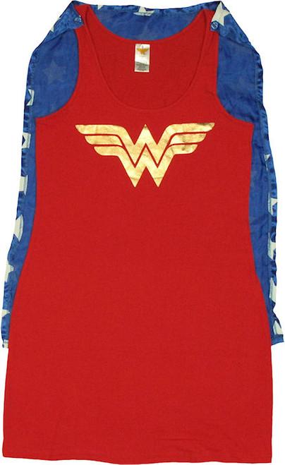 Wonder Woman Costume Tank Top Dress