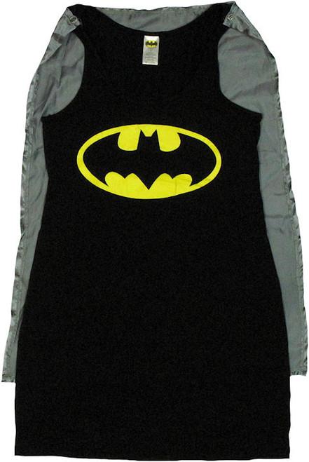 Batman Costume Tank Top Dress