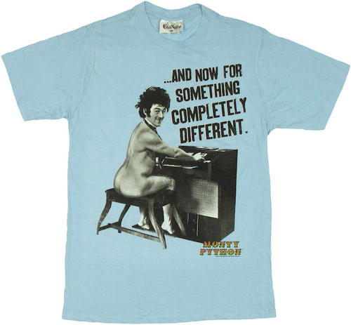 Monty Python Completely Different T Shirt Sheer