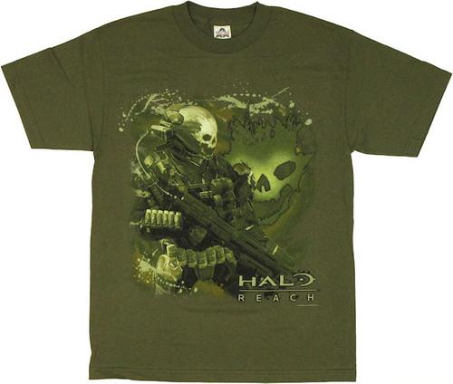 Halo Reach Emile Shotgun T Shirt