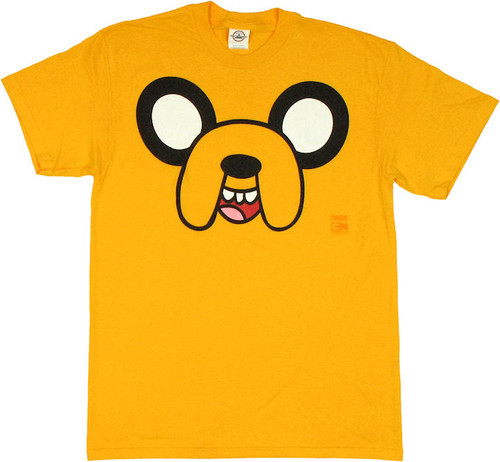 Adventure Time Jake Face T Shirt