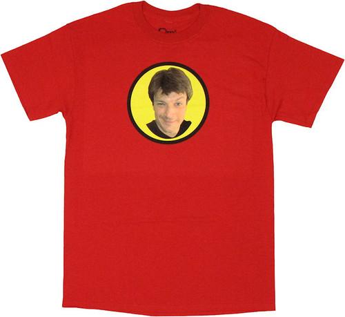Dr Horrible Captain Hammer Groupie T Shirt