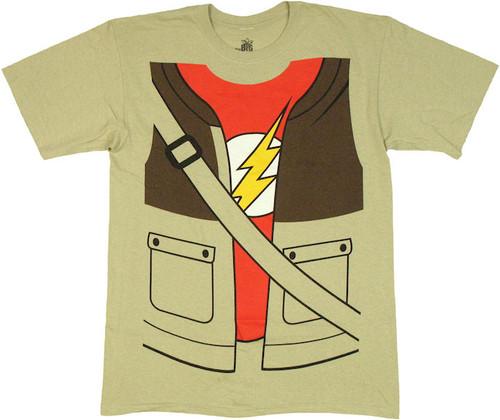 Big Bang Theory Sheldon Costume T Shirt