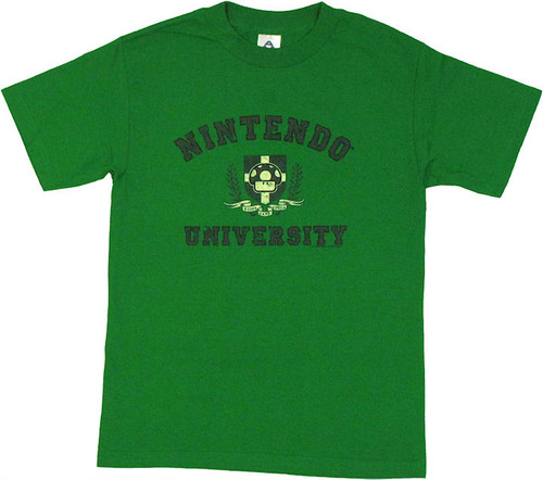 Nintendo University T Shirt