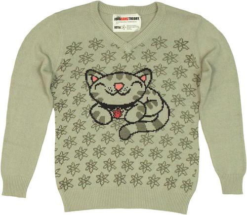 Big Bang Theory Soft Kitty Junior Sweater