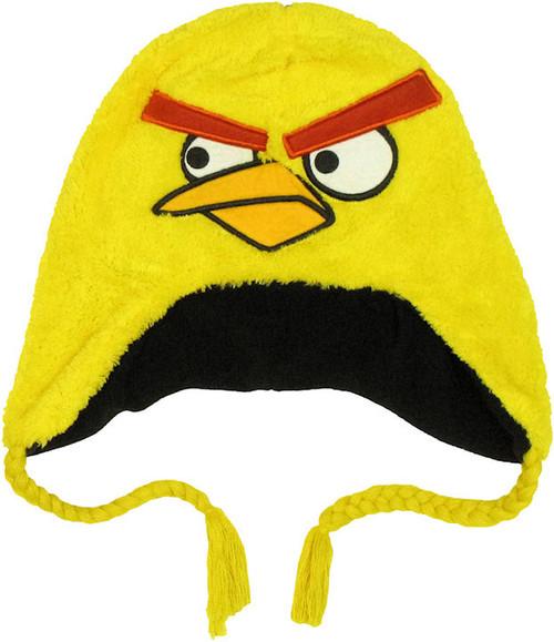Angry Birds Yellow Plush Lapland Beanie