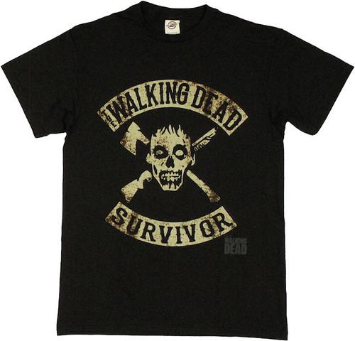 Walking Dead Survivor T Shirt