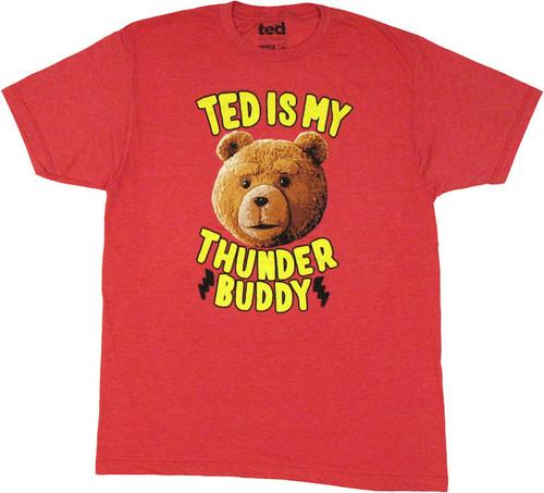 Ted My Thunder Buddy T Shirt Sheer