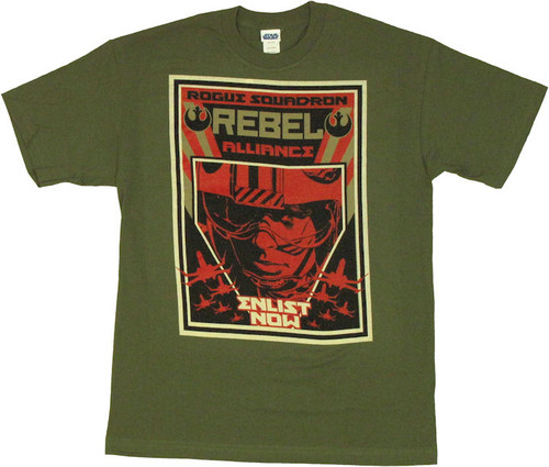 Star Wars Rebel Enlist T Shirt