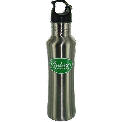True Blood Merlottes Metal Water Bottle