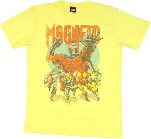 Marvel Avengers Magneto T Shirt Sheer