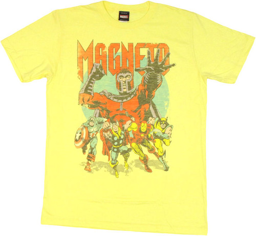 Marvel Avengers Magneto T Shirt Sheer