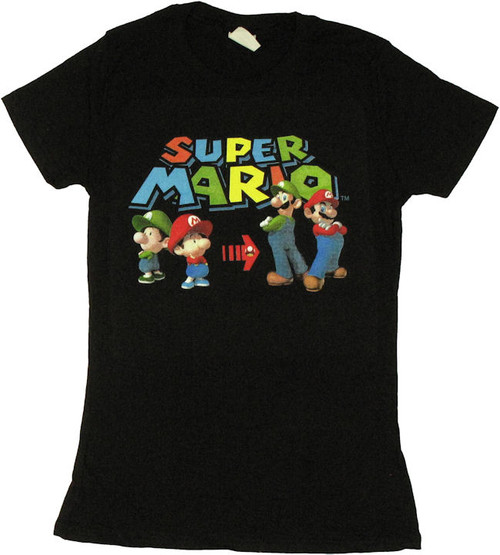 Mario Luigi Grow Baby Tee