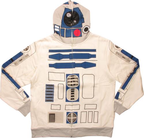 Star Wars R2 D2 Hoodie