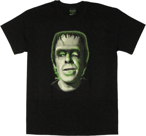 Munsters Green Herman T Shirt