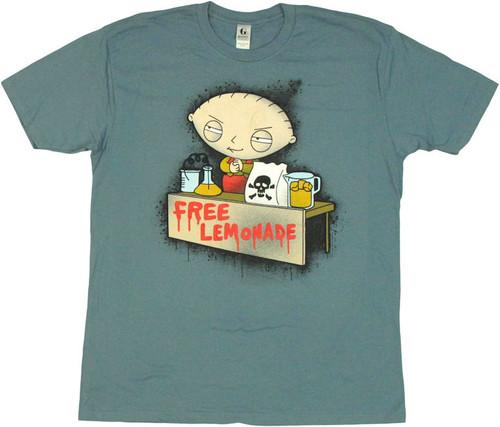 15ca8ec9f44e9 Family Guy Stewie Free Lemonade T Shirt Sheer