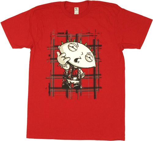 Family Guy Stewie Punk T Shirt Sheer