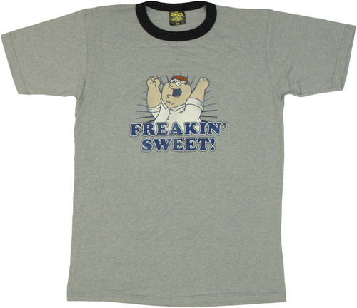 Family Guy Peter Sweet Vintage T Shirt Sheer