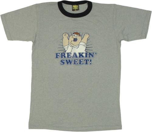 Family Guy Peter Sweet Vintage T Shirt Sheer