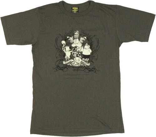 Family Guy Griffin Crest T Shirt Sheer