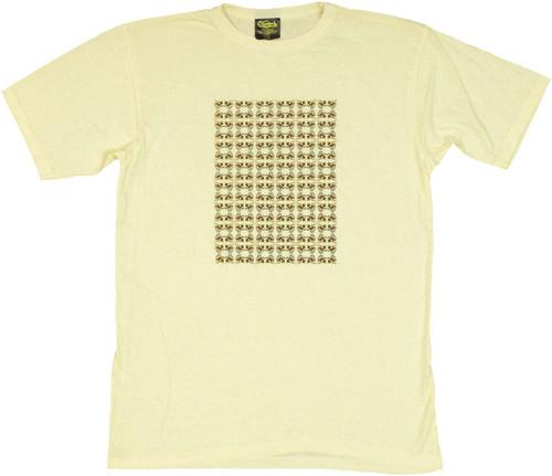 Family Guy Evil Monkey Pattern T Shirt Sheer