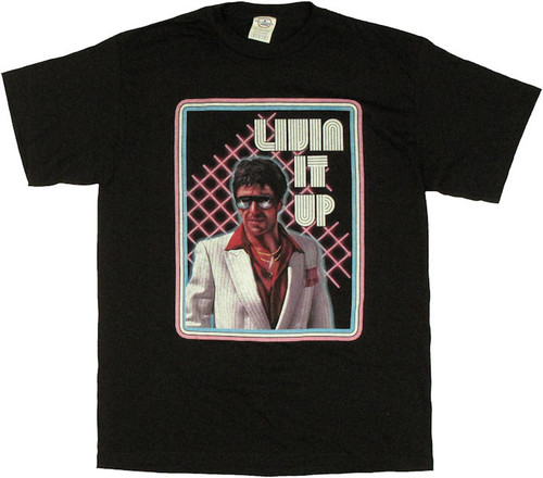 Scarface Livin it Up T Shirt