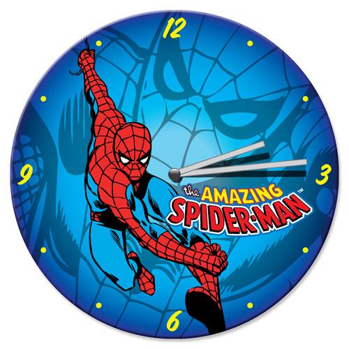 Spiderman Clock