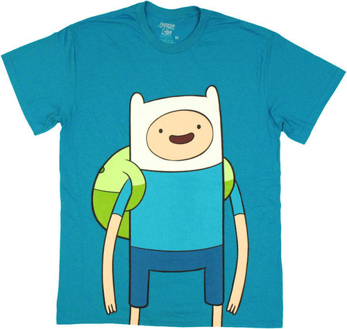 Adventure Time Large Finn T Shirt