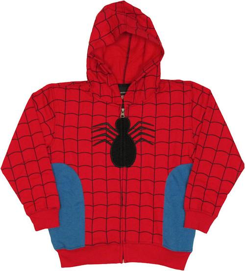 Spiderman Juvenile Hoodie